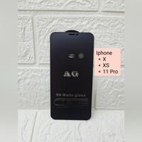 Matte Glass Anti Gores Minyak Iphone X / XS / 11 Pro - Iphone 11 Pro