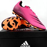Sepatu Bola Adidas X Ghosted 4 FXG Shock Pink FW6950 Original BNIB