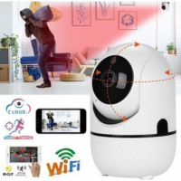 CCTV IP CAMERA WIFI 1080P 3MP Auto Tracking Cam YCC365 PLUS WIRELESS