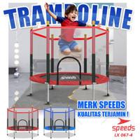 "Speeds Mini Trampoline55"" inch / Mainan Trampolin Anak & Dewasa Jari"