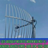 ANTEN ANTENA GRID PENANGKAP PENGUAT SINYAL HP MODEM 2G 3G 4G REPETER