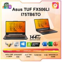 ASUS TUF FX506LI I75TB6T-O i7 10870 8GB 512ssd GTX1650Ti 4GB OHS 144Hz