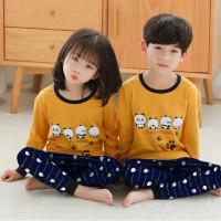 baju tidur anak / setelan panjang anak / baju celana panjang - Duoyitong, M