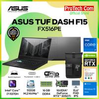 ASUS TUF DASH F15 FX516PE i7-11370H 16GB 512GB RTX3050Ti 4GB OHS W10