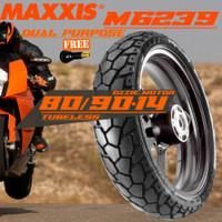 BAN MOTOR MAXXIS DUAL PURPOSE CROSS M6239 M6240 80/90-14 BEAT X-RIDE