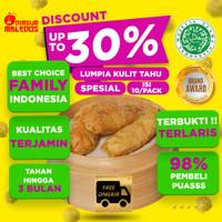 Lumpia Kulit Tahu Kembang - Tofu Skin Roll FROZEN FOOD DIMSUM SPESIAL
