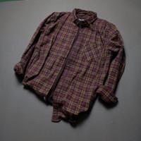 Kemeja Flanel pria lengan panjang premium quality original100%shirt-10