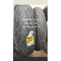 BAN MICHELIN PILOT ROAD 5 120 VS 190 55 17 NOT BATTLAX PIRELLI SC