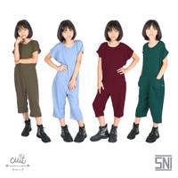 CUIT KIDS Cotton Premium Viscose Shiro Jumpsuit Girl Nami Series
