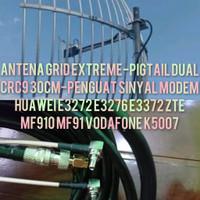 ANTENA GRID EXTREME PENGUAT SINYAL MODEM E3272 E3276 E3372 MF910 K5007