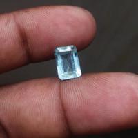 Natural Aquamarine Beryl Batu Aquamarine beryl Kotak