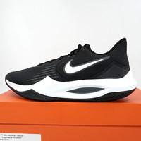 Sepatu Basket Nike Original Precision V Black White CW3403-003 BNIB