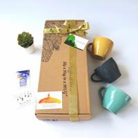 Hampers Parcel Lebaran/ Idul Fitri/ Ramadhan Kareem Tea Set Keramik