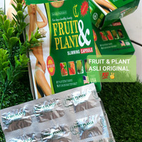 Fruit and Plant / Slimming Capsule Fruit & PLant ASLI Original