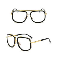 Kacamata Hitam Pria Polarized Fashion Tony Stark Kacamata UV400 - Putih