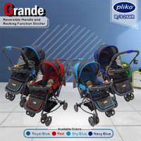Stroller Pliko Grande 268R 4in1 Multifungsi Kereta Bayi