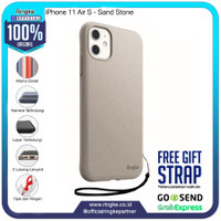 Rearth Ringke iPhone 11 Air S SoftCase AntiCrack Original - Sand Stone