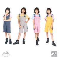 CUIT KIDS Cotton Corduroy Denim Riko Overall Girl Take Series