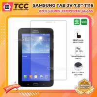Samsung Tab 3V 3 V 7.0 inch T116 Screen Tempered Glass Anti Gores Kaca