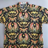 BARU Kemeja Batik Keris Pria XL Cowok Atasan Baju Kantor Formal Shirt
