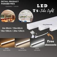 LAMPU TL / T5 LED/ LED TUBE LIGHT 6W 10W 18W 20W / 30CM-120CM TERMURAH