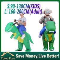 kostum dinosaurus anak dewasa kostum dino pesta unik cosplay - anak