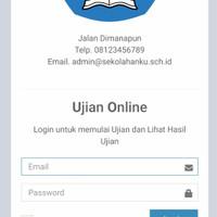 Aplikasi Ujian Online SD SMP SMA Codeiginter