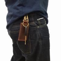 Dompet kunci STNK Motor mobil kulit CRAZY HORSE,dompet stnk kulit asli