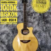 Diskon Lebaran WE Guitars Y Series Akustik Elektrik