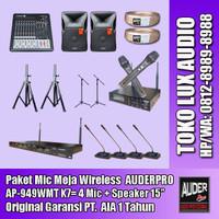 Distributor sound system audio meeting microphone wireless K7 AUDERPRO