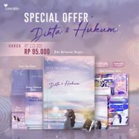 Dikta & Hukum edisi TTD + Bonus - Dhia'an Farah (READY STOCK)