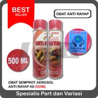 Obat Anti Rayap Semprot Pest Control Spray Kayu Tembok Dinding