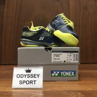 Sepatu Badminton Yonex SHB 37 Wide EX (Navy/Yellow)