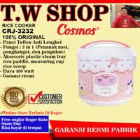 COSMOS Rice Cooker CRJ-3232 2 Liter / Magic Com CRJ3232 / CRJ 3232