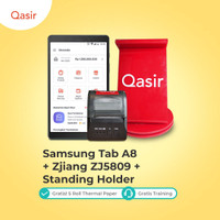 Mesin Kasir Tablet Hemat/ Tab A8/ Stand Holder/ Printer Zjiang