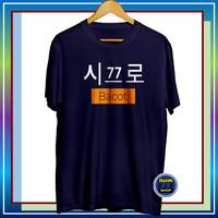Baju Kaos Distro Pria Korea Bacot Oblong Cowok Kekinian Murah Keren
