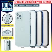 Case iPhone 12 Pro Max 12 Pro Mini OCTACASE Dual Hybrid Clear Casing
