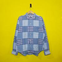 FILA vintage patchwork shirt (KEMEJA)