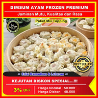 Dimsum Ayam Premium, Dimsum Ayam Frozen Siomay Paket Mix Isi 20