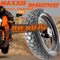 BAN MOTOR MAXXIS DUAL PURPOSE CROSS M6239 M6240 90/90-14 BEAT X-RIDE