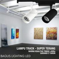 LAMPU RELL TRACK LED SOROT LAMPU REL TRACKLIGHT SPOTLIGHT SPOT 12W/25W