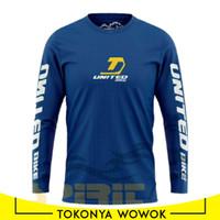 Baju Sepeda Jersey United Lengan Panjang KAOS GOWES XS MS M L XL XXL