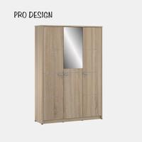 Pro Design Volta Lemari Pakaian 3 Pintu - Sonoma Oak