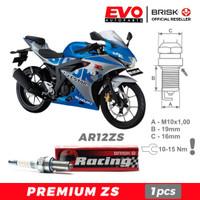 Busi BRISK Premium ZS AR12ZS untuk motor Suzuki GSX-R150