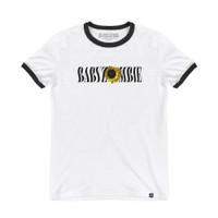 BABY ZOMBIE - Sunflower Ringer Tshirt