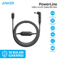 Anker PowerLine USB-C to DC Cable 6ft - A2660011-82