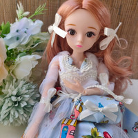 BJD doll 1/6 30cm barbie korea cantik +baju tas lolita 20 sendi