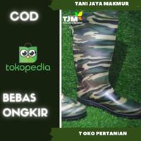 AP Boots HUNTER ARMY / Sepatu Boot Hijau Doreng Panjang/GAGAH
