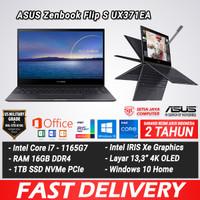 ASUS Zenbook FLIP S UX371EA i7-1165G7 16GB 1TB SSD 13,3 OLED W10 RESMI