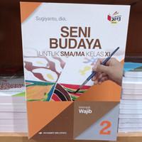 Buku Seni Budaya Wajib SMA Kelas 11 K13N Penerbit Erlangga